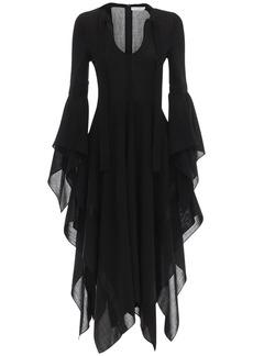 JW Anderson Gazar Asymmetric Midi Dress