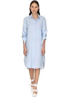 JW Anderson Striped Poplin Shirt Dress