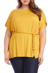 Karen Kane Grecian Tunic Top (Plus Size)