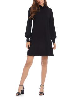 Karen Kane Turtleneck Long Sleeve Dress