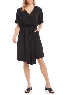 Women's Karen Kane Faux Wrap Dress