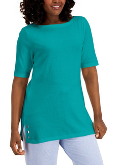 Karen Scott Embellished Tunic, Created for Macy's
