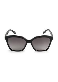 Karl Lagerfeld 55MM Butterfly Sunglasses