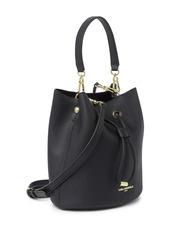 Karl Lagerfeld Adele Leather Bucket Bag