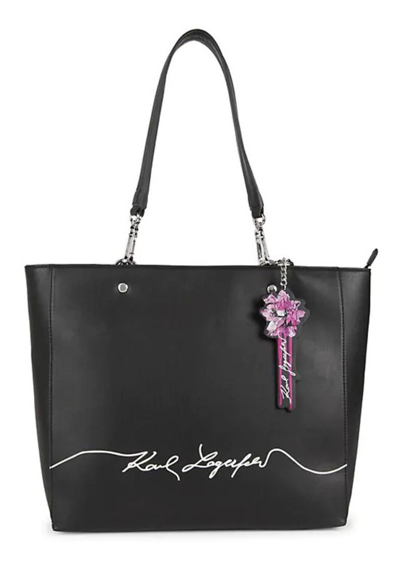 Karl Lagerfeld Adele Top-Zip Tote