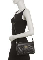 Karl Lagerfeld Agyness Diamond Quilted Crossbody Bag
