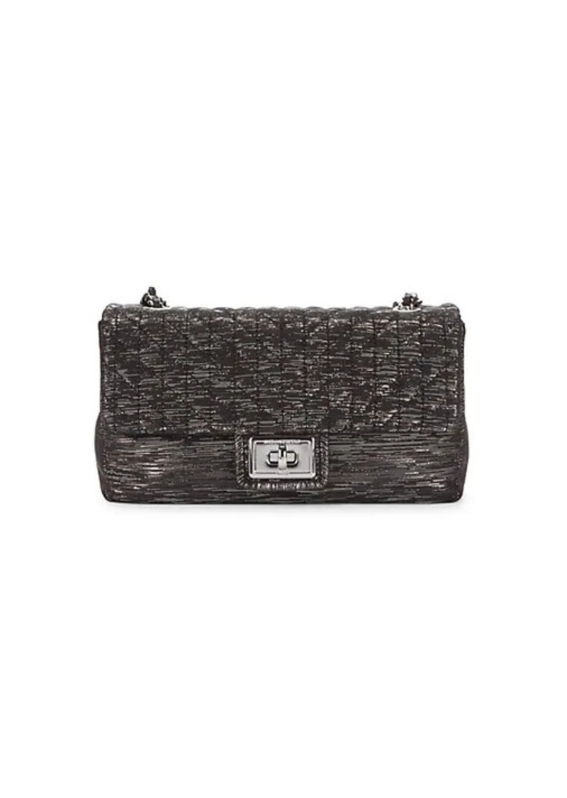Karl Lagerfeld Agyness Textured Shoulder Bag
