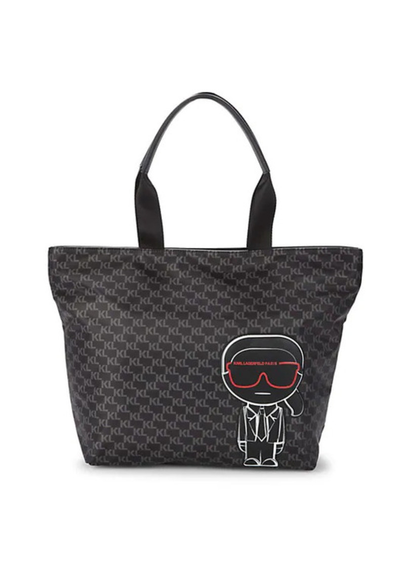 Karl Lagerfeld Amor Patch Logo Tote