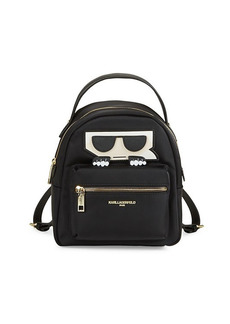 Karl Lagerfeld Amour Nylon Backpack