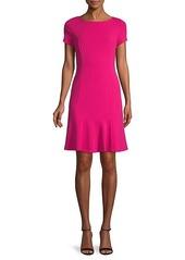 Karl Lagerfeld Boatneck Mini Dress