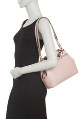 Karl Lagerfeld Bouquet Leather Hobo Bag