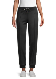 Karl Lagerfeld Buttoned Joggers