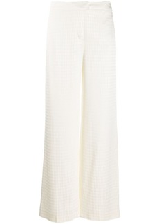 Karl Lagerfeld Cameo logo trousers