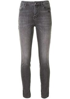 Karl Lagerfeld chain-trim skinny jeans