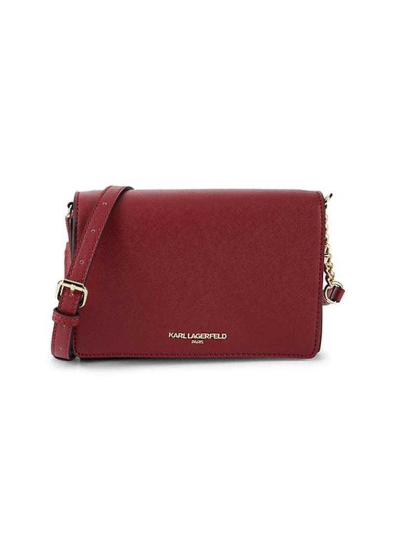 Karl Lagerfeld Connie Leather Crossbody