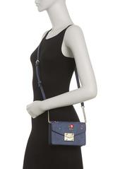 Karl Lagerfeld Corinne Floral Print Crossbody Bag