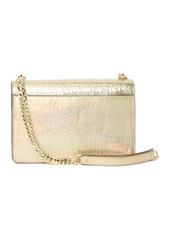 Karl Lagerfeld Corinne Leather Metallic Shoulder Bag