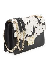 Karl Lagerfeld Corrine Floral Shoulder Bag