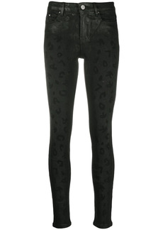 Karl Lagerfeld cropped jeans