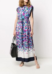 Karl Lagerfeld degrade printed maxi dress