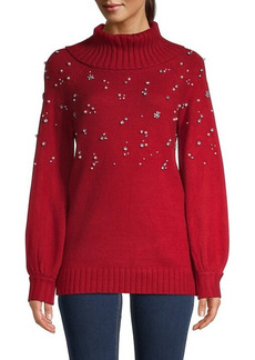 Karl Lagerfeld Embellished Sweater