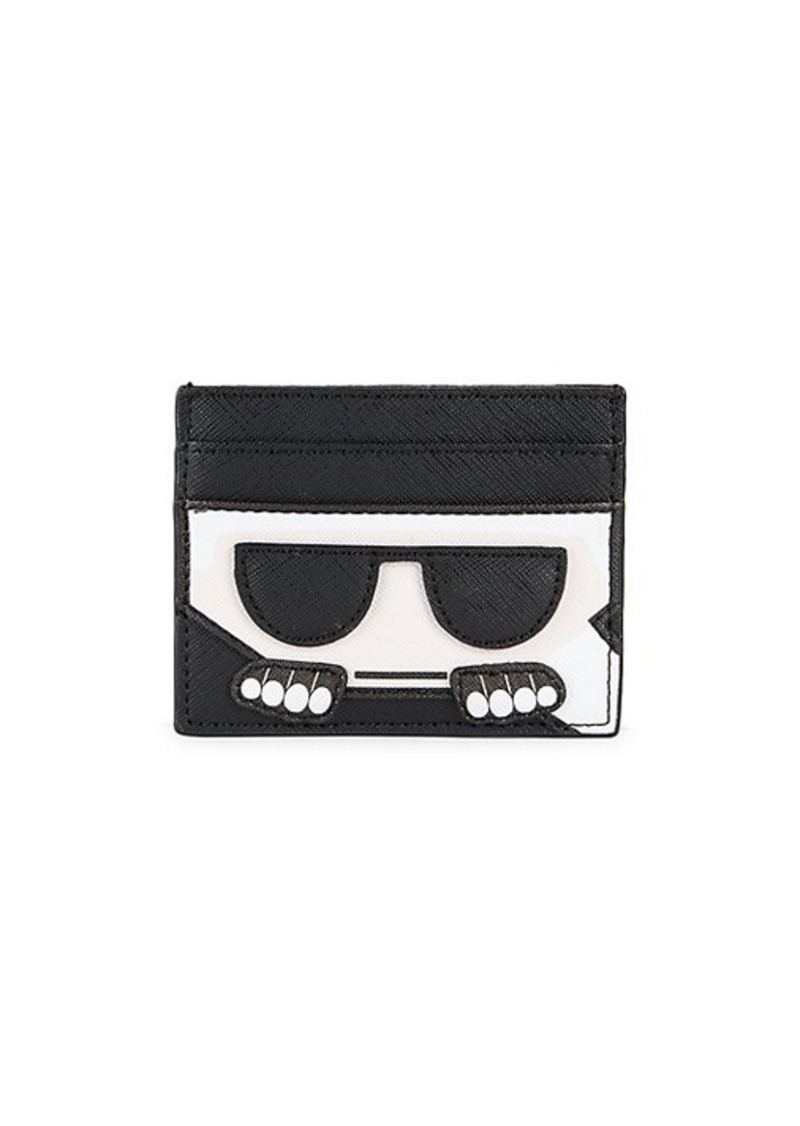 Karl Lagerfeld ​Faux Leather Card Case