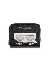 Karl Lagerfeld Glitter Small Wallet