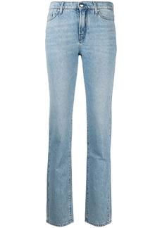 Karl Lagerfeld Ikonik mid-rise straight-leg jeans