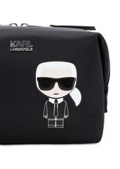 Karl Lagerfeld Karl Ikonik Nylon Make-up Bag
