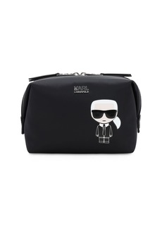 Karl Lagerfeld Karl Ikonik Nylon Make-up Bag