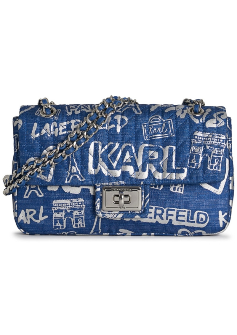 Karl Lagerfeld Paris Agyness Shoulder Bag
