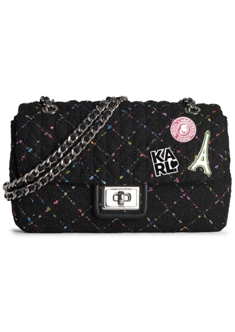 Karl Lagerfeld Paris Agyness Shoulder Bag