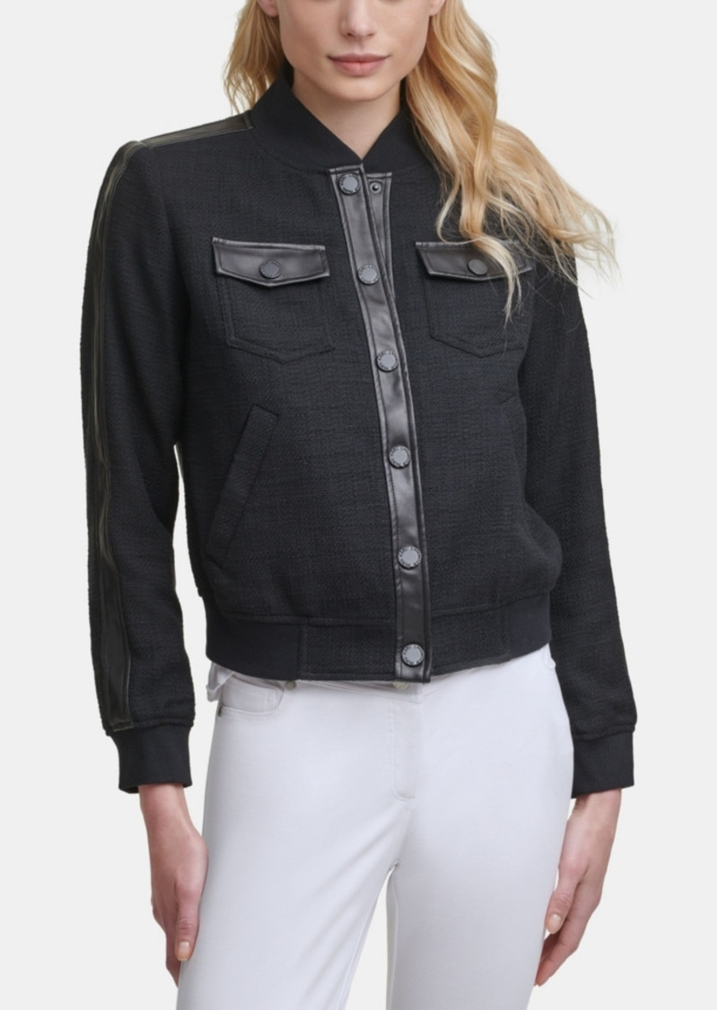 Karl Lagerfeld Paris Bomber Jacket