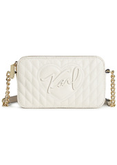 Karl Lagerfeld Paris Karolina Leather Crossbody