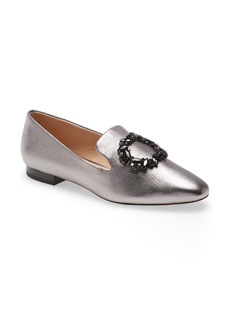 Karl Lagerfeld Paris Noor Crystal Embellished Flat (Women)
