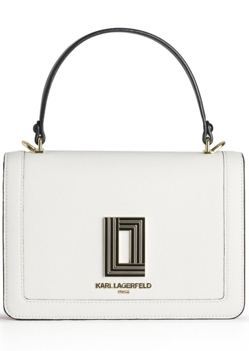 Karl Lagerfeld Paris Simone Flap Crossbody