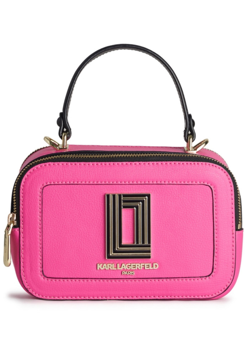 Karl Lagerfeld Paris Simone Lunchbox Crossbody