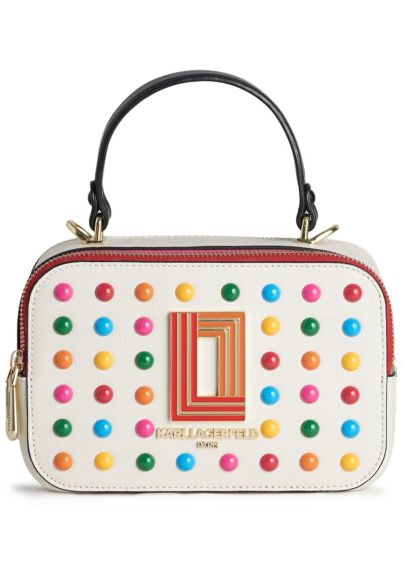Karl Lagerfeld Paris Simone Lunchbox Crossbody