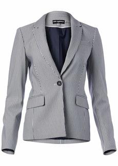 Karl Lagerfeld Paris Women's Pinstripe Blazer