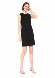 Karl Lagerfeld Women's Solid Tweed Dress