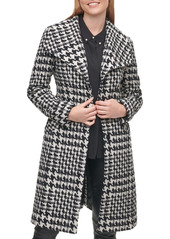 Karl Lagerfeld Paris Wool Belted Wrap Coat