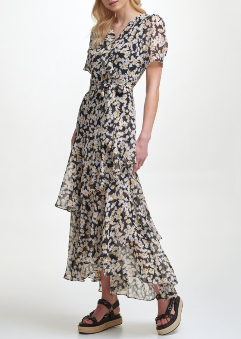 Karl Lagerfeld Ruffled Maxi Dress