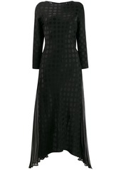 Karl Lagerfeld Karl x Carine satin dot dress