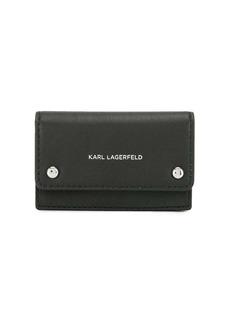 Karl Lagerfeld K/Ikon flap card holder