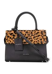 Karl Lagerfeld K/Ikon Leopard Sm tote