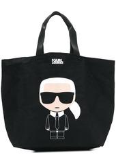 Karl Lagerfeld K/Ikonik canvas bag