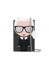 Karl Lagerfeld K/Ikonik Karl Minaudiere bag