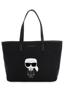 Karl Lagerfeld K/ikonik Karl Tote Bag W/leather