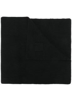 Karl Lagerfeld K/Ikonik logo patch scarf