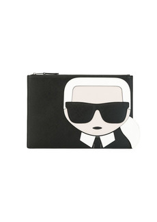 Karl Lagerfeld K/Ikonik pouch